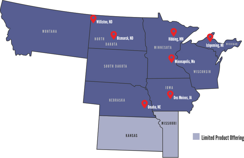 Contact Us Jasper - Minneapolis minnesota on us map